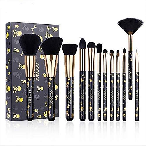 XUXIAOXU666-BrushSets 12 Pinceles Maquillaje Gótico