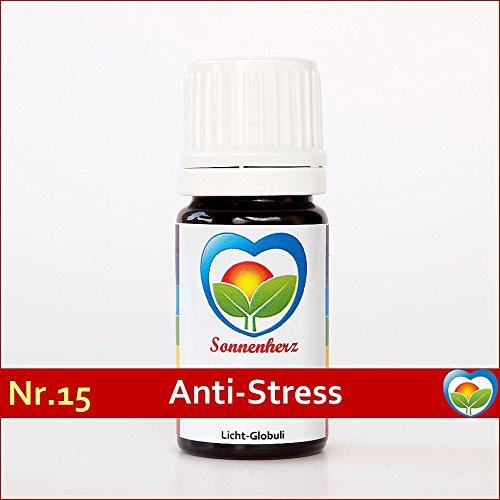 Gegen Stress: Energetische & feinstoffliche Sonnenglobuli Nr. 15 ANTI-STRESS von Sonnenherz - Informierte Globuli, Globulis, Lichtglobuli -