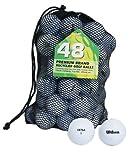 Second Chance Wilson Ultra 48 Balles de golf de récupération Qualité supérieure Grade A