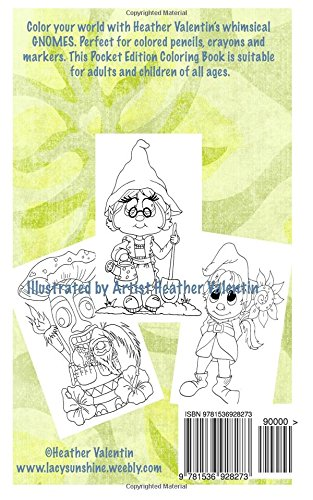 Lacy Sunshines Gnomes Coloring Book Volume 23 Heather