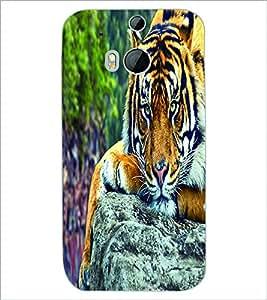 PRINTSWAG TIGER Designer Back Cover Case for HTC ONE M8s