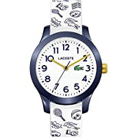 Lacoste Unisex-Child Analogue Classic Quartz Watch with Silicone Strap 2030011