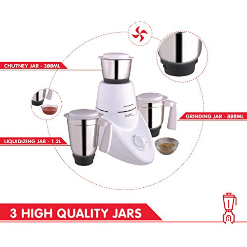 Morphy Richards 750 Watts Mixer: 51% OFF On Morphy Richards Aero 500-Watt Mixer Grinder With 3 Jars (White) Buy Morphy Richards