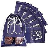 Sacs à Chaussures de Voyage, MOOKLIN 10pcs Organiseurs de Bagage Sacs Cadeaux Sacs...