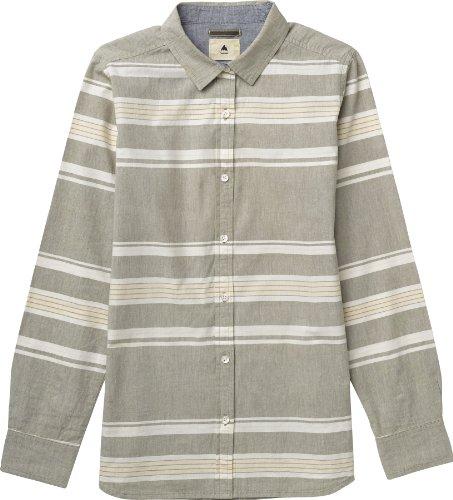 Burton Damen Hemd Wms Grace Longsleeve Woven, texture stripe, XS, 11208101977 (Shirt Stripe Long Sleeve Woven)
