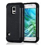 kwmobile Samsung Galaxy S5 Mini G800 Hülle - Hybrid Handy Cover Case Schutzhülle - Handyhülle für Samsung Galaxy S5 Mini G800