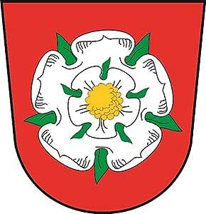 U24 Aufkleber Rosenheim Wappen Autoaufkleber Sticker Konturschnitt Auto