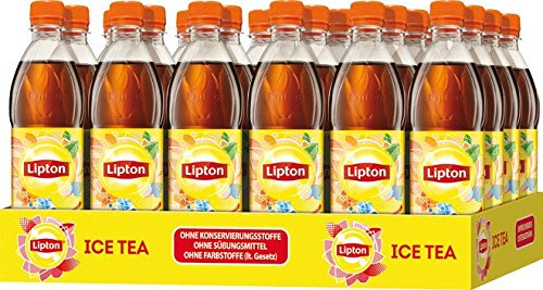 Lipton Ice Tea Pfirsich, 24er Pack (24 x 500 ml)