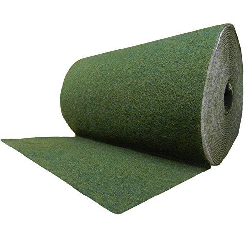 Ufermatte grün 0,5m breit Böschungsmatte Teichrand Teichufer für die Teichfolie verschiedene Abmaße (10m)