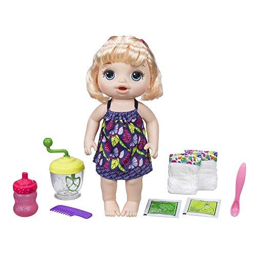 Baby Alive e0586Puppe isst zu der Löffel Blonde (Puppe Baby Alive Hasbro)