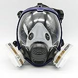 7-teilige Atemschutzmaske für Lackierarbeiten