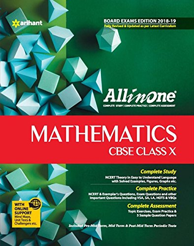 CBSE All  In One Mathematics CBSE Class 10 for 2018 - 19