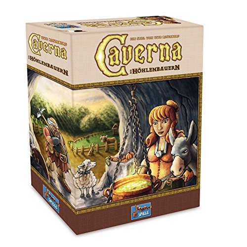 Preisvergleich Produktbild Lookout Games 22160070 - Caverna  Spiele