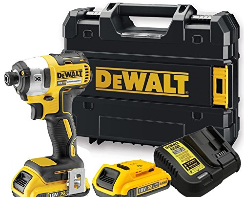 DeWalt-DCF886D2-18V-Li-ion-Cordless-Brushless-Impact-Driver-with-2-x-2Ah-Batteries