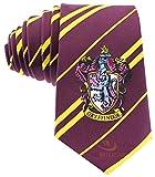 Cinereplicas - Harry Potter - Cravatta Unisex - Replica Esatta - Licenza Ufficiale - Casa Grifondoro - Taglia Unica - 100 % Microfibra - Rosso e Giallo