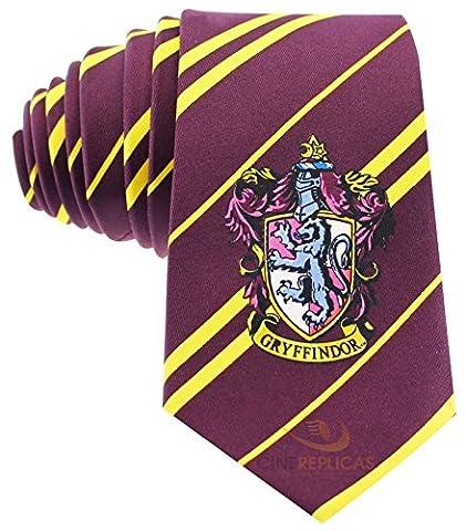 Cinereplicas - Cravate - Harry Potter - Gryffondor Bordeau