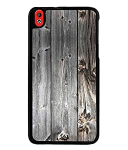 PrintVisa Designer Back Case Cover for HTC Desire 816 (woody browny shaddy texture image)