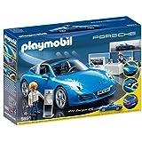 Playmobil Porsche 911 Targa 4S - figuras de construcción (Playmobil, Multi, Niño)