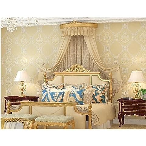 Papel pintado Estereoscópica 3D wallpaper morado oscuro living comedor TV fondo pared papel, película casera simple dormitorio Europeo y fondo de pantalla de TV , wallpaper