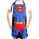 Schürze Superman–Kostüm, Cobalt Unisexe, one size