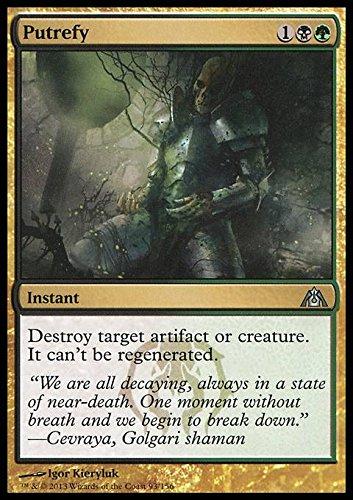 Magic: the Gathering - Putrefy - Putrificare - Dragon's Maze - Foil