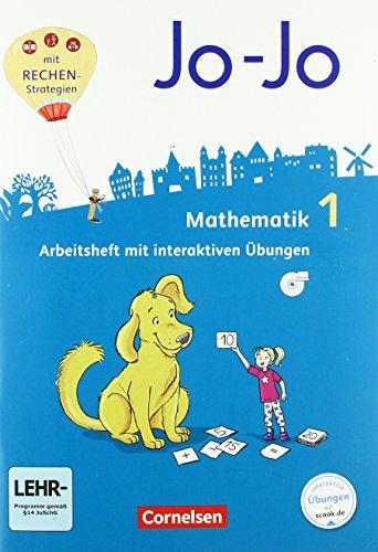 Jo-Jo Mathematik - Allgemeine Ausgabe 2018 / 1. Schuljahr - Arbeitsheft: Mit interaktiven Übungen auf scook.de und CD-ROM