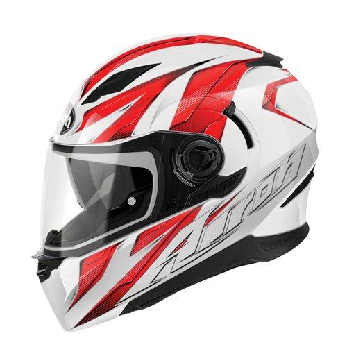 Airoh Helme Movement Strong, Rot, Größe : XS (Klare Vision Sammlung)