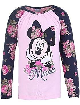 DISNEY Mädchen Minnie Mouse Shirt, rosa