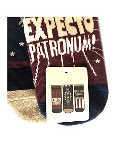 3-Pair-Pack-Socks-Harry-Potter-Different-Designs-Ladies-Girls-UK-Size-4-8-Eur-37-42-USA-6-10