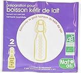 Nat-Ali Ferment Kefir de Lait Bio 12 g - Lot de 5