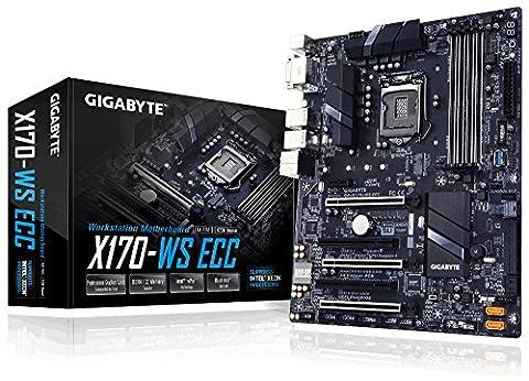GIGABYTE Intel C236 DDR4 ECC Dual Intel LAN(i219LM + i210AT) SATA DOMx2 6xPWM FAN Control 2xCOM pin headers 2xIntel USB