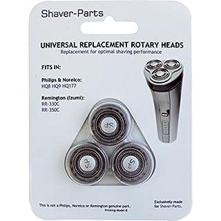 Shaver-Parts Alternative Scherköpfe für Philips HQ8/HQ9/HQ177/SH30
