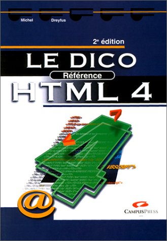 Le Dico référence HTML 4