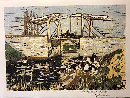 elois - Fine Art Print von reimaennchen nach Vincent van Gogh, von Hand nummeriert und signiert ()