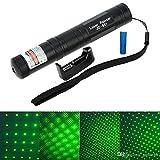 ZIGLY High Power Green Laser Pointer JD-851 532nm 5mw Bright Beam Laser Light