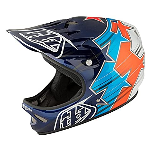 Troy Lee Designs Downhill-MTB Helm D2 Blau Gr. M/L