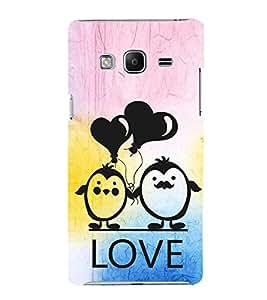 EPICCASE lovers pose Mobile Back Case Cover For Samsung Tizen Z3 (Designer Case)