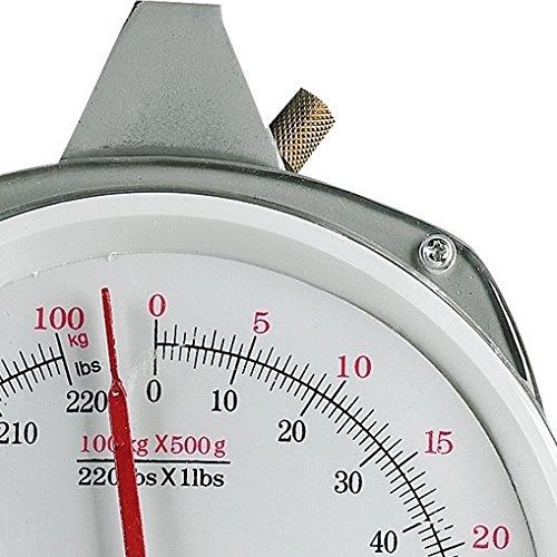 Fladen Angeln Schwerlaststuhl Dual Display kg/Lbs Waagen und 2Haken Set–für Gewichte bis zu 100kg/99kg plus [36–9960]