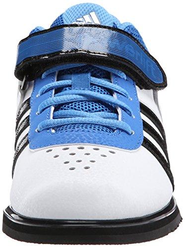 Adidas Powerlift 2.0 Weightlifting Scarpe White/Black/Bright Royal