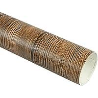 Mekingstudio 50x50cm Fotografía Fondo de Papel Recubierto de PVC Textura de Madera Background Backdrop Paper para Estudio Fotográfico Video Accesorios - Marrón