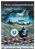 """Kindergartenfreundebuch """"Polizei"""" mit individueller Gravur"""
