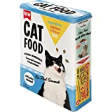 Nostalgic-Art 30320 Animal Club - Cat Food - Vegetables, Chicken, Salmon Mix, Vorratsdose XL