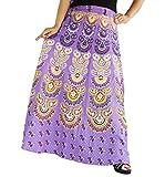 Aura Life Style Women Printed Cotton Lon...