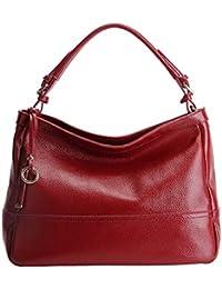 6ac7422d722bd E-girl LF-6024 Damen Leder Handtaschen Elegantes Design Henkeltaschen  Schultertaschen Umhängetaschen