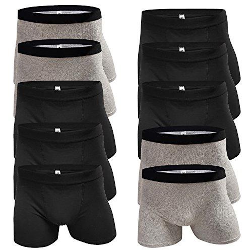 5-10 Unterhosen Jungen Boxershorts Jungs Boxershort Kinder aus Baumwolle Retroshorts Pants Schlüpfer (Farbmix - 10 Stück, Gr. 158/164)