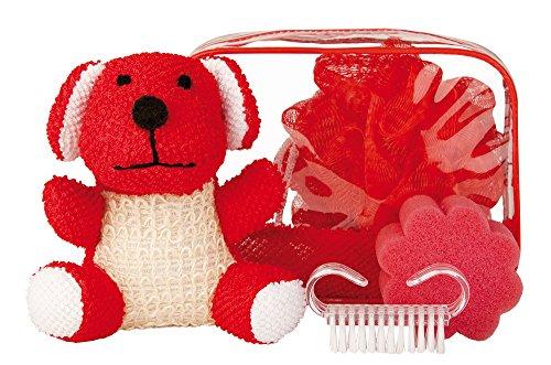 Croll & Denecke Coffret cadeau 4 kidz, rouge chien, 1 pièce