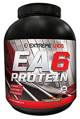 Extreme Labs 2.25 kg EA6 Extreme Anabolic Lean Protein Chocolate Powder by Extreme Labs