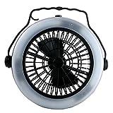 Unbekannt 3-in-1 LED Camping Fan & Hängende Zelt Lampe Outdoor Wandern Angeln Camping Fan Licht
