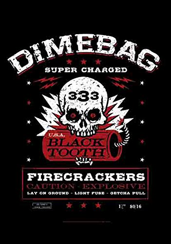 DIMEBAG DARREL - Fire Crackers - poster drapeau 100% polyester - Taille 75 x 110 cm