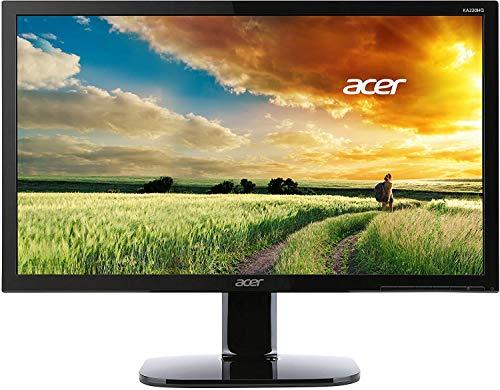 ACER KA220HQbid 54,6cm 21,5Zoll TFT 1920x1080 LED Backlight 5ms 200cd/m² VGA DVI HDMI schwarz, [Energieklasse A++ - D]